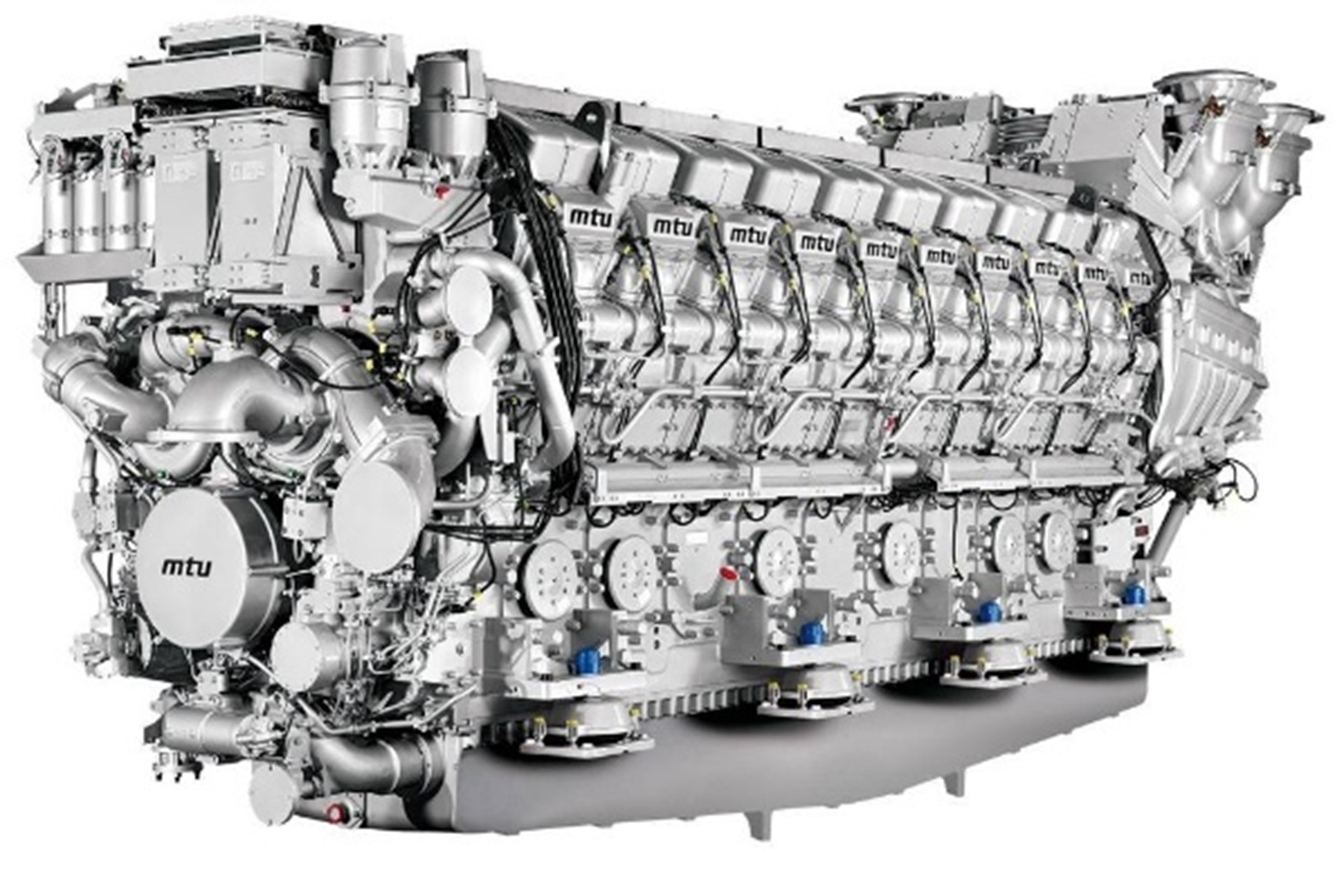 High-speed marine diesel engine